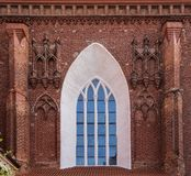 Architectural details of St. Anne`s Church royalty free stock images