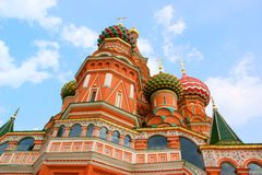 Architectural details of St Basil's Cathedral royalty free stock images