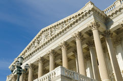 Architectural details of US Capitol building Royalty Free Stock Photography