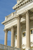 Architectural details of US Capitol building Stock Photos