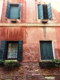 Architectural details in Venice Stock Image