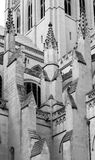 Architectural details of the Washington National Cathedral Royalty Free Stock Images