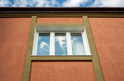 Architectural details. window in the building. Royalty Free Stock Photography