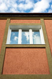 Architectural details. window in the building. Stock Photography