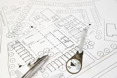 Architectural development Royalty Free Stock Image