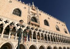 Architectural of Doge s Palace in Venice Italy Royalty Free Stock Images