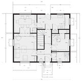 Architectural drawing Stock Images