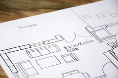 Architectural drawing Stock Photos