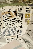 Architectural drawings, blueprints, city planning stock images