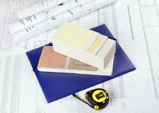 Architectural drawings Royalty Free Stock Images
