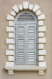 Architectural element - Renaissance style window Stock Photos