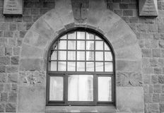 Architectural element of the window. Decoration Royalty Free Stock Photography
