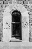 Architectural element of the window. Decoration Royalty Free Stock Photos