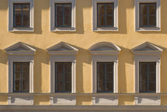 Architectural Element of Windows Stock Image