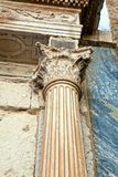Architectural elements of the ancient temple Stock Photo