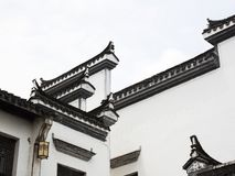 Architectural Elements Of Traditional Chinese Design Stock Images