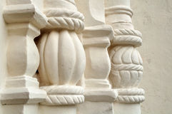 Architectural elements of St. Sophia Cathedral in Veliky Novgorod Royalty Free Stock Photos