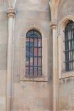 Architectural elements windows, columns of Lviv Stock Photos