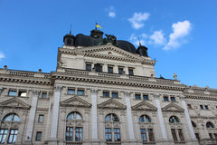 Architectural ensemble of great building in Lvov Stock Photography