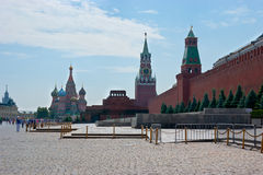The architectural ensemble of the Red Square Stock Photography