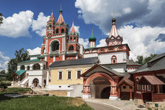 The architectural ensemble of the Savvino-Storozhevsky monastery in Zvenigorod. Moscow region Royalty Free Stock Photos