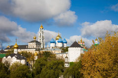 Architectural Ensemble of the Sergius Lavra. Sergiev Posad Royalty Free Stock Images