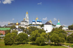 Architectural Ensemble of the Sergius Lavra. Sergiev Posad Royalty Free Stock Photos