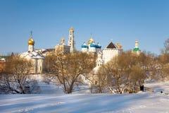 Architectural Ensemble of the Sergius Lavra. Sergiev Posad Royalty Free Stock Photography