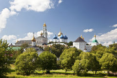 Architectural Ensemble of the Sergius Lavra. Sergiev Posad Stock Photo
