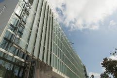 Facade. Architectural facade of modern building royalty free stock image