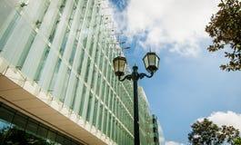 Facade. Architectural facade of modern building stock images