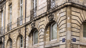 Architectural Feature in Bordeaux Stock Image