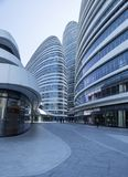 A modern architectural feature. Architectural feature of Wangjing modern city, Beijing, China Stock Images