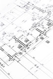 Architectural floor plan Royalty Free Stock Photography