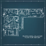 Architectural Floor Plan. Stock Image