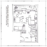Architectural Floor Plan Royalty Free Stock Images