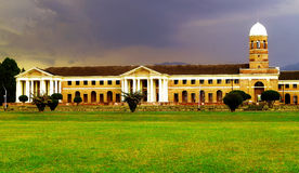 The Architectural Fort: Forest research Institute Royalty Free Stock Photos