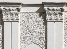 Architectural fragment in east style Stock Image
