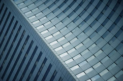 Architectural fragment from La Defence, Paris Royalty Free Stock Image