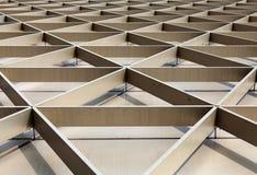Architectural framework stock image