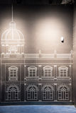 Architectural fresco Royalty Free Stock Photos