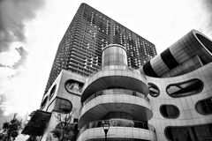 Architectural Grayscale Photography of Building Stock Photo