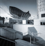 Architectural grouping. View in Barcelona Olympic Port Royalty Free Stock Image