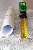 Architectural instruments Royalty Free Stock Image