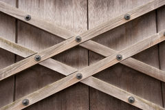Architectural latticework detail. Detail of hand-crafted latticework on door, part of Kyoto's Imperial Palace complex, Japan Stock Photos