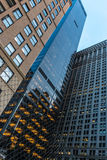 Architectural marvels of Manhattan Stock Image