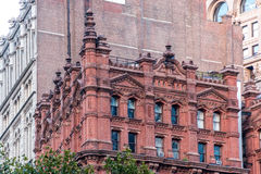 Architectural marvels of Manhattan Royalty Free Stock Photography