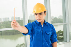 Architectural measurements Royalty Free Stock Images