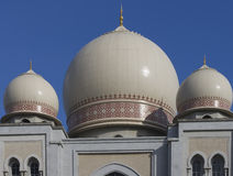 Architectural Moghul Three Domes Stock Images