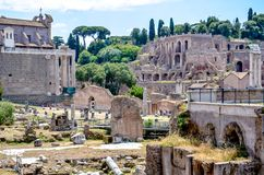 Rome, Italy Architectural monument Royalty Free Stock Photography